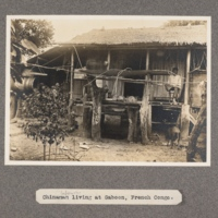 Chinaman labourer living at Gaboon, French Congo