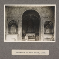 Interior of old Dutch church, Loanda
